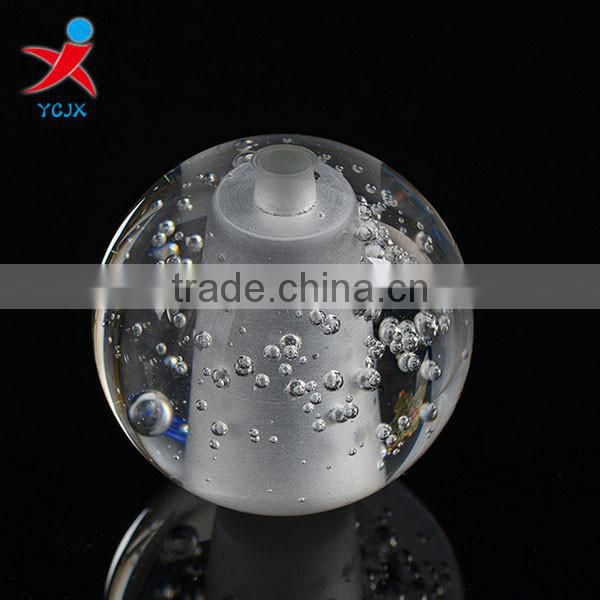 Manufacturers wholesale crystal lighting accessories/bubble ball bubble crystal/glass lamp shade/specification lamp shade