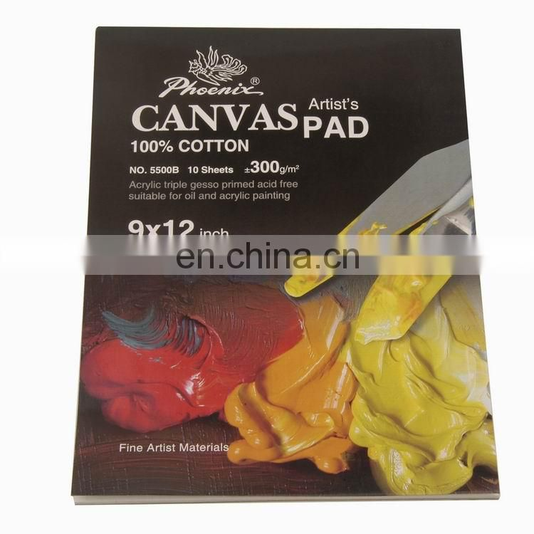 100% Cotton Oil and Acrylic Painting Canvas Pad