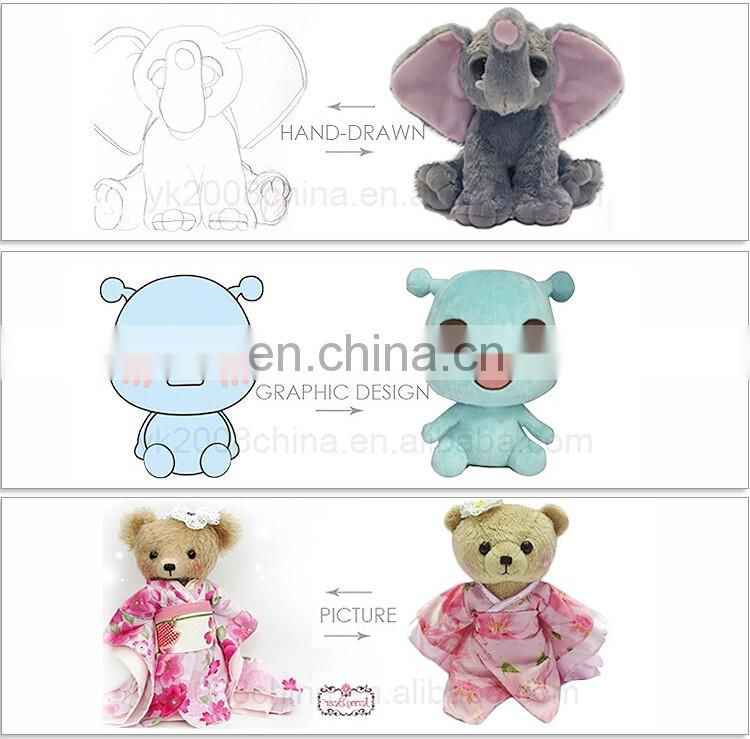 Promotional Plush Keychain Wholesale OEM Design Cheap Plush Keychain Bear