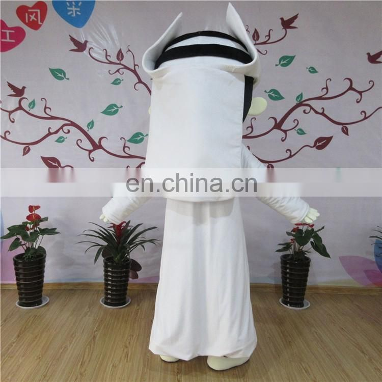 Adult sizes cartoon character arabia character mascot costume for sale