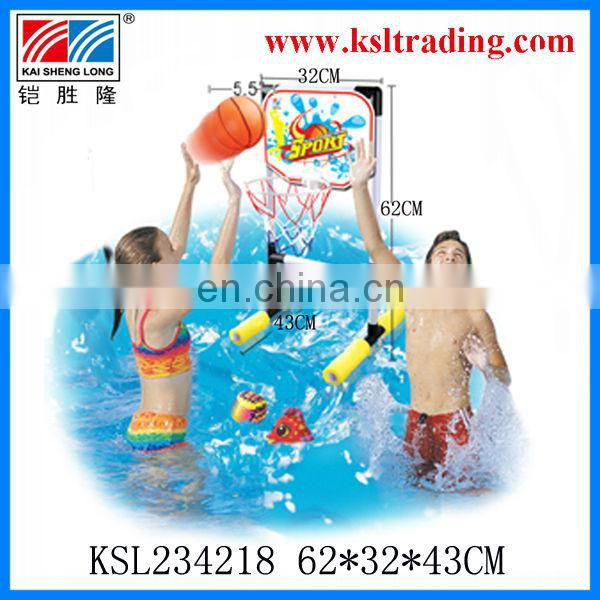 2 in 1 summer toy plastic water basketball/plastic toy water football toy