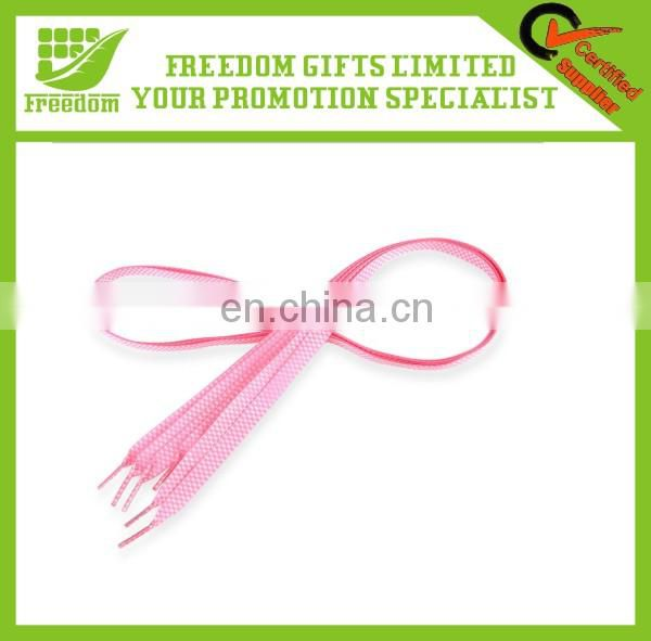 Promotional Gifts Good Quality Custom Cheap Flat Shoelace
