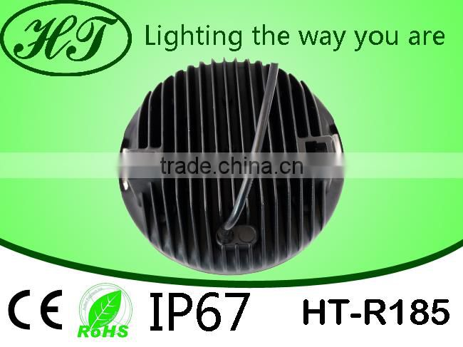 "Hot sale round 9"" 185W Led Work light for Truck, 4x4, ATV, 9 inch led driving lights for 4X4"