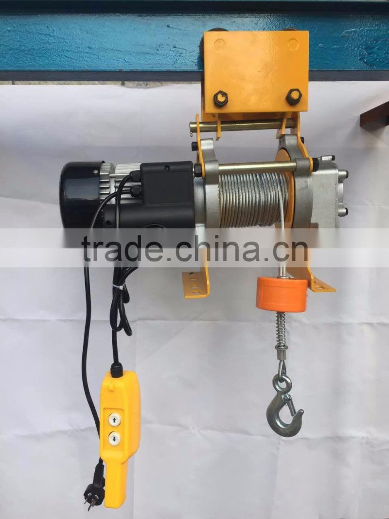 220V electric hoist with 100m long rope