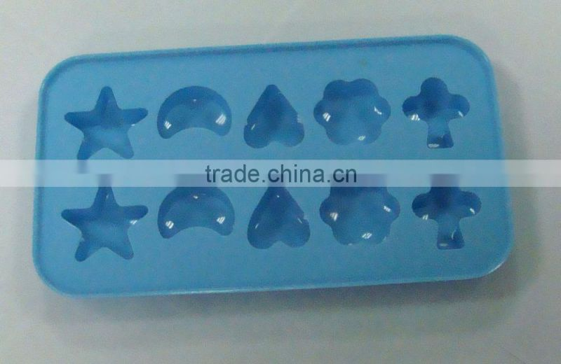Ice Cream Tools Type and Stocked Eco-Friendly Feature silicone ice cube tray