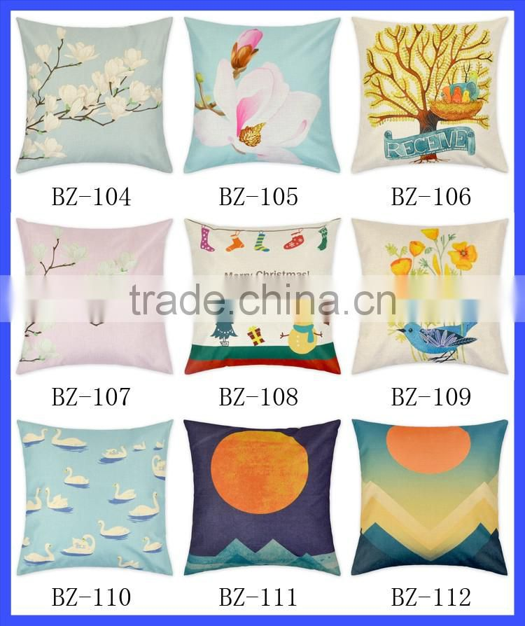 unique vintage design pillow case decorative