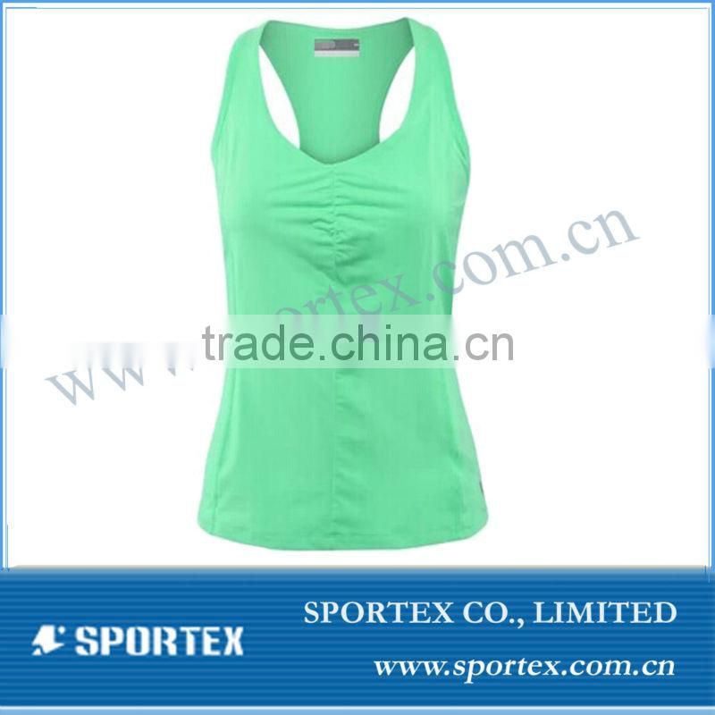 Custom brand sport top for women sport tank, women tennis wear