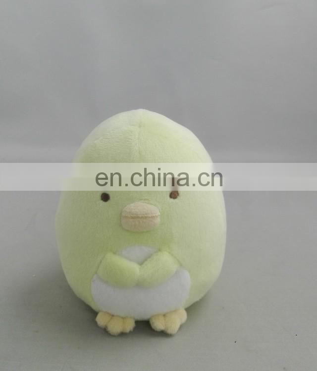 New 2017 loveable green Penguin plush shenzhen plush toy factory