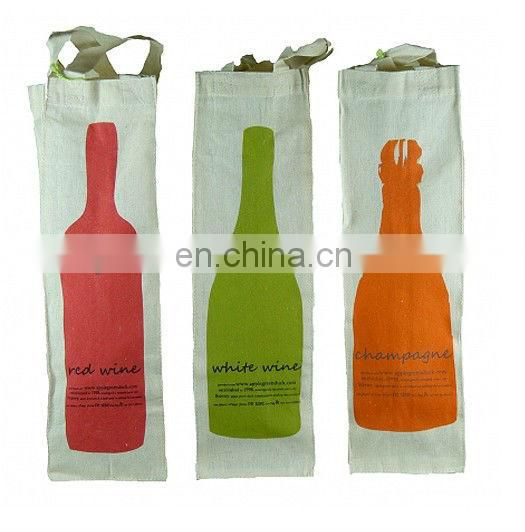 mini cotton bags for wine bottles