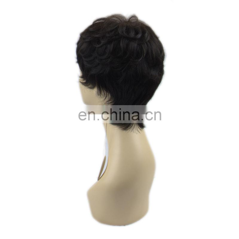 aliexpress virgin hair full lace wig for black women by Chinese manufacture