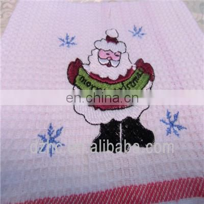 christmas kitchen towel embroidery kitchen towel
