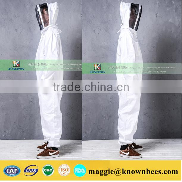 High Quality Beekeeping Suit, Beekeeping veil suit smock; bee keeping equipment tactical vest anti hornet bee clothes conjoine
