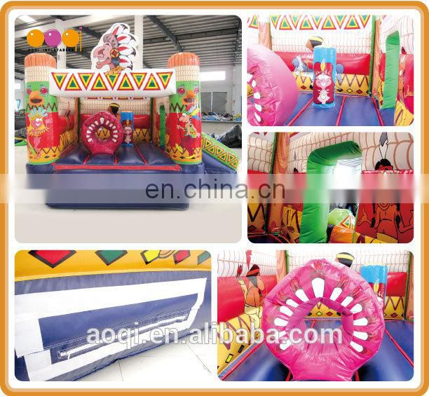 commercial bouncy castle inflatable clown jumping bouncer games for kid