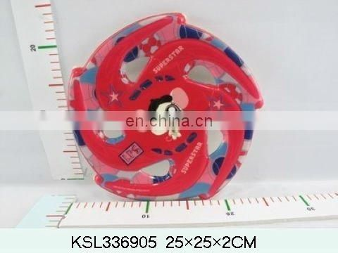 hot sell funny cartoon frisbee for child