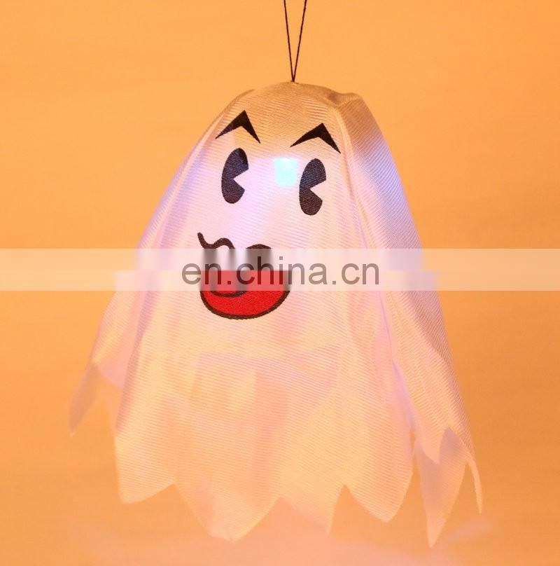 pop flash LED lights tricky decoration halloween hanging ghost night lights lamp