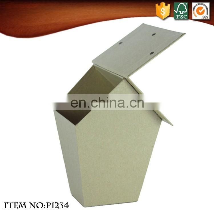 Kraft paper house shape gift boxes