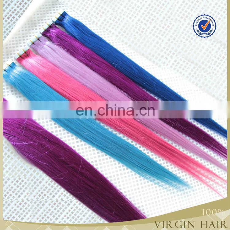 Good quality Gold supplier China wholesale cheap brazilian hair weave bundles tape in hair