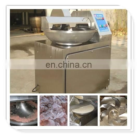 High Speed Energy Saving bowl type cutter mixer Meat vegetable chopping machine mixing machine