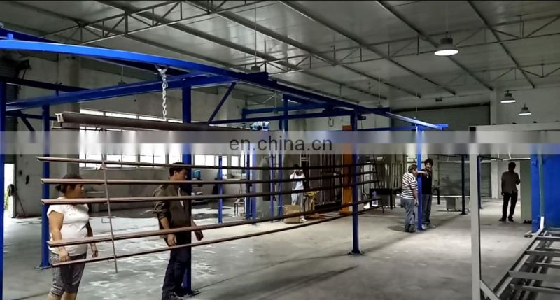 Automatic powder coating machine factory_curing oven