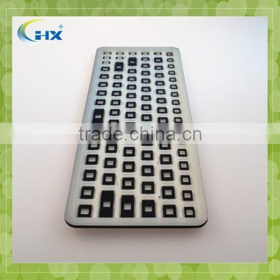 Waterproof custom silicone keyboard cover for computer