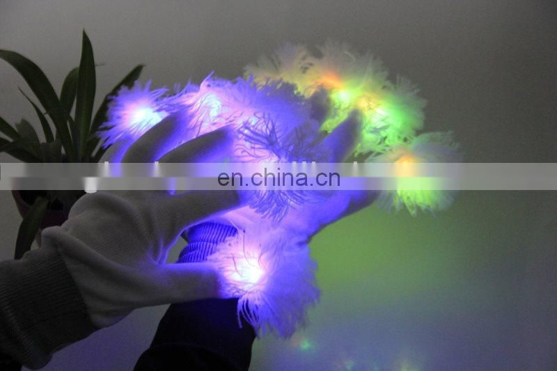 Colorful LED gloves LED gloves wholesale Advertising Gift Led Gloves