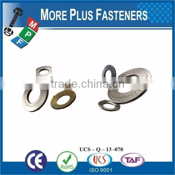 Taiwan Stainless Steel 18-8 Copper Brass Aluminum Brass Wave Washer Single Wave Washer Captive Washer