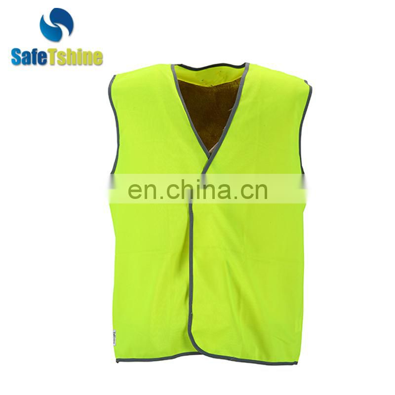 reflective hot selling cheap dri-fit safety vest