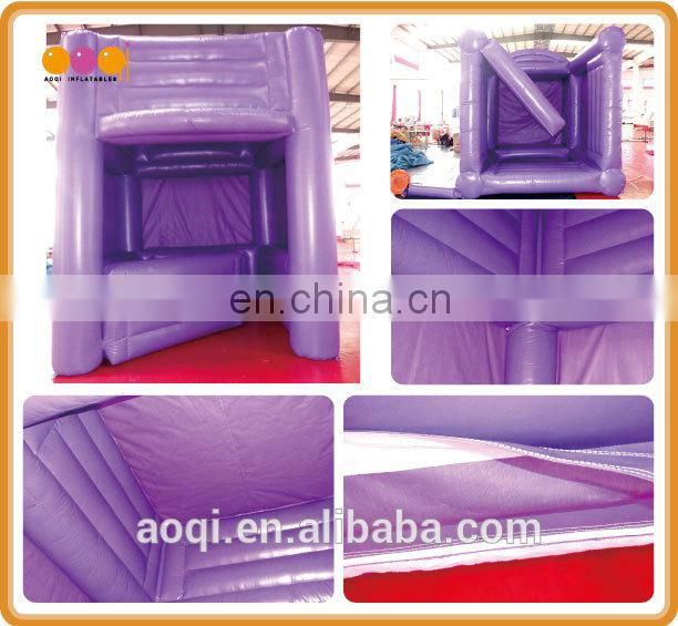 2015 AOQI new products hot seller outdoor small inflatable cube tent