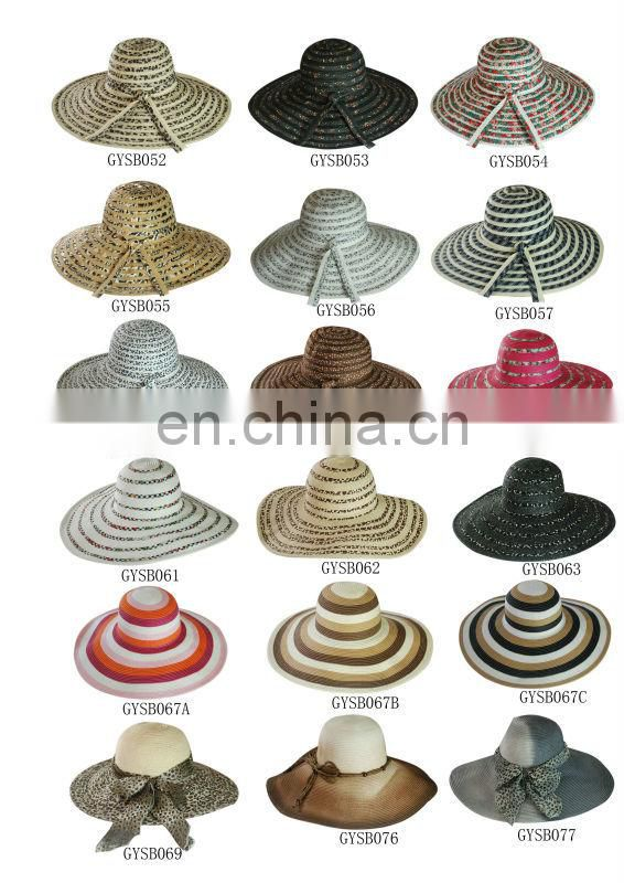 Hot Selling Newest Purple 100% Hot Selling Hat Straw Hat Paper Straw Hat LSP42