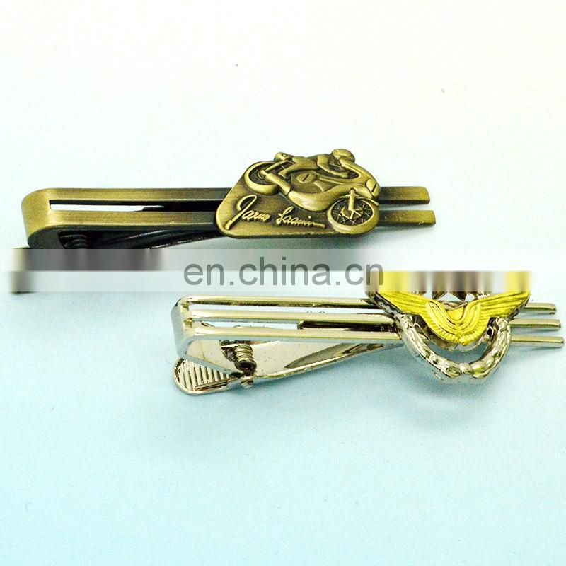 Promotional cheap metal tie clips for men