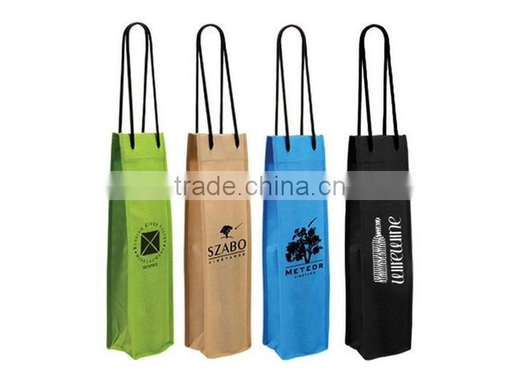 Custom non woven wine bag,fabric wine bags,non woven wine bottle bags