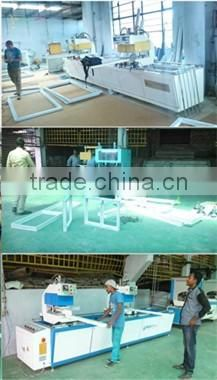 Automatic Aluminum Window Corner Jointer Cutting Machine