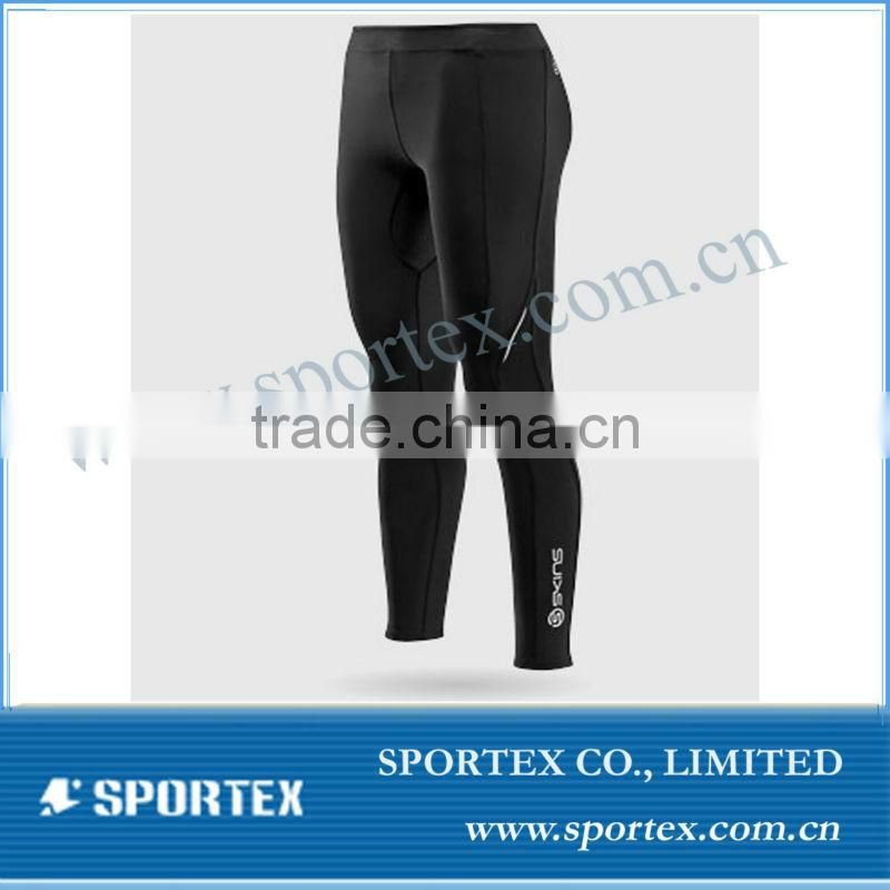compression gym pant / high quality compression short for men / compression pant