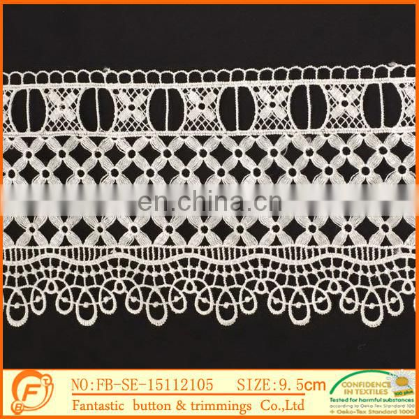 factory wholesale lace manufacturer nigerian lace fashion styles trimming lace