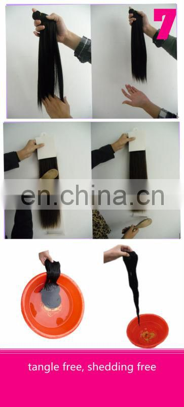 Hot sale factory cheap price high quality 100% human remy 24 inch clip in human hair extensions
