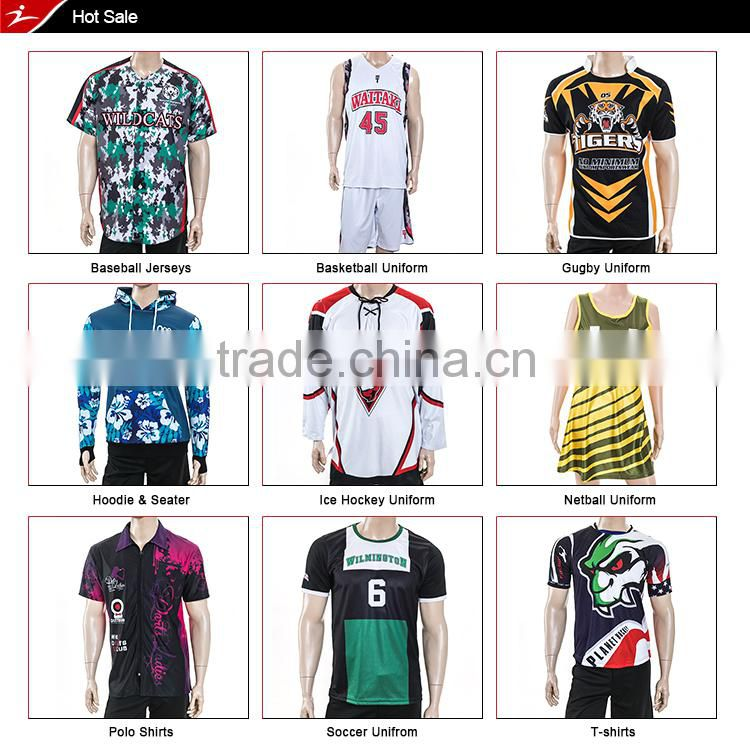 best design promotional 100% polyester cricket jersey sports jersey