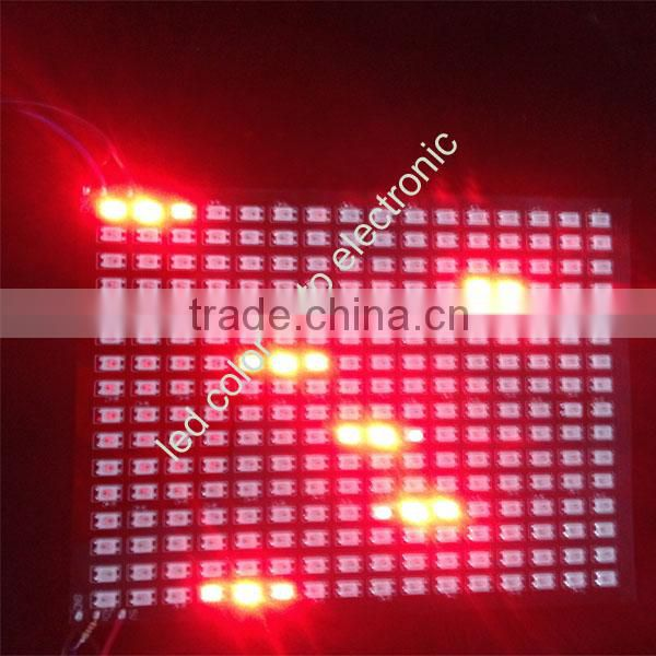 rgb led matrix panel 265pcs smd 5050 16x16