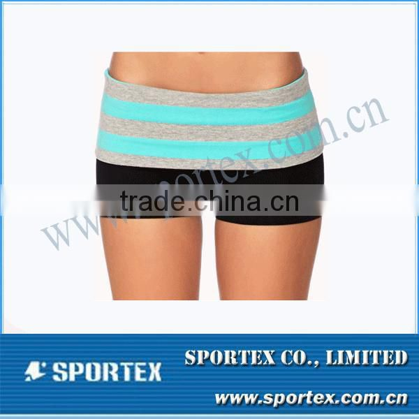 2014 Hot Selling Top Quality Lady Sexy Yoga Shorts Perfect Yoga Wear MZ0277