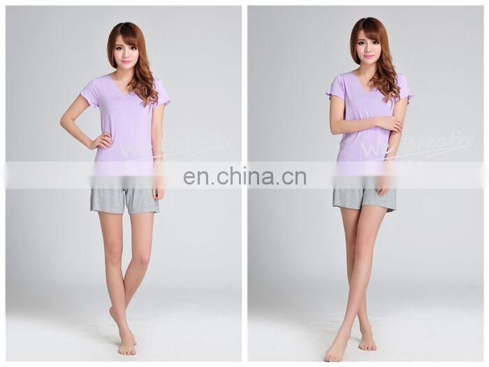 Ladies Short Sets Nightwear Multi-colors Bamboo fiber Cool Super Soft