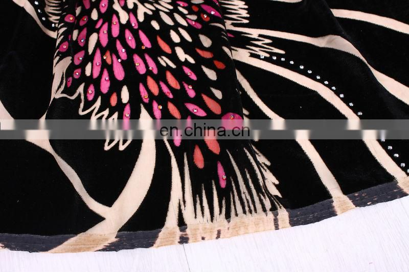 hot sell african high quality velvet lace fabric