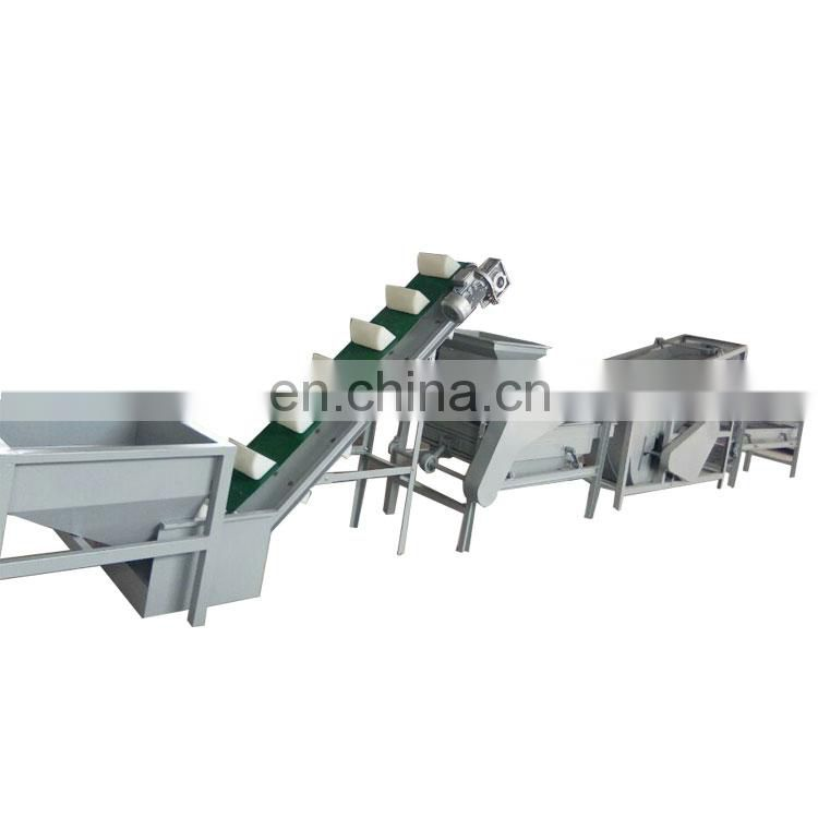 almond cracking shelling machine with almond separating machine Image