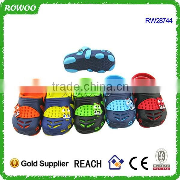 innovative cool car type kids clogs cheap eva garden shoes for kids