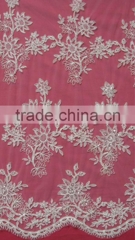 "56"" width embroidery lace materials"