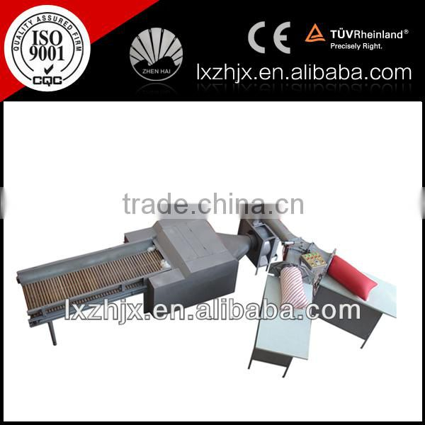 Certified ZXJ-380+HFM-2000 high quality high efficiency Automatic pillow Filling Machine