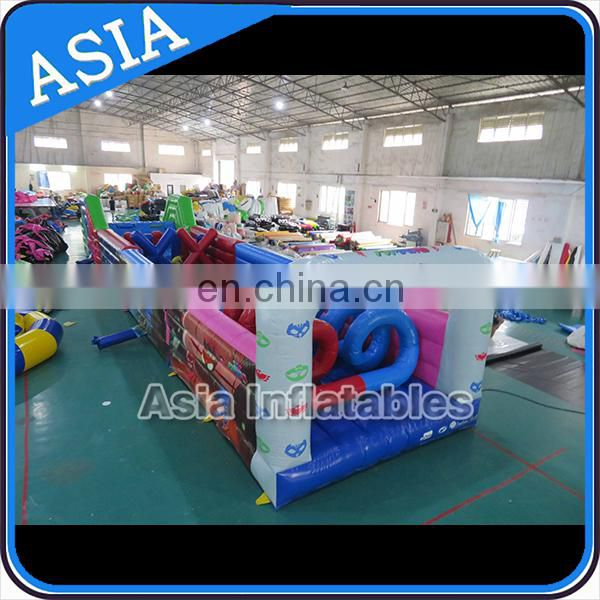 PVC Inflatable Mega Military Aqua Run Obstacle Course For Kids To Sale