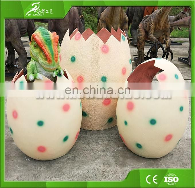 KAWAH Hot Sale Customized Amusement Park Hatching Dinosaur Egg Toy
