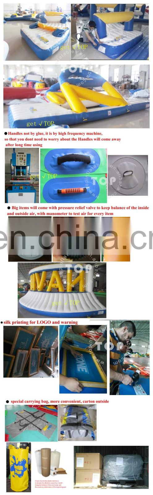 Commercial bunkers paintball bunker set inflatable structure with high quality
