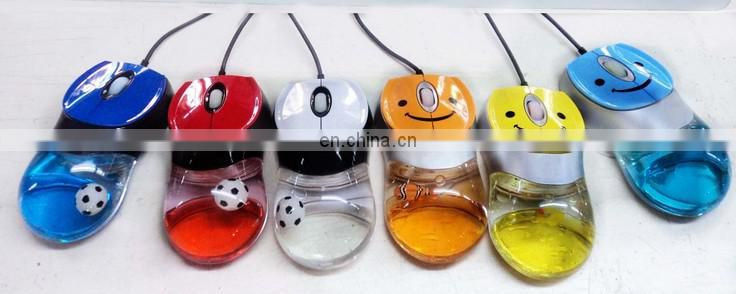 Top selling Water mouse Oil mouse Mice optical with oem logo Liquid Optical Mouse