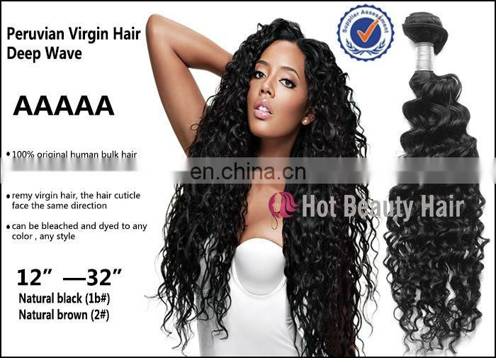 Hotbeauty Virgin Human Hair Malaysian Virgin Deep Curly