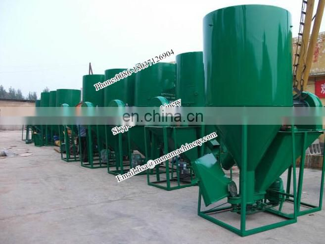 China first-class level High efficiency animal feed crushing mixing machine with low price